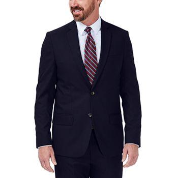J.M. Haggar Dobby Slim Fit Suit Jacket