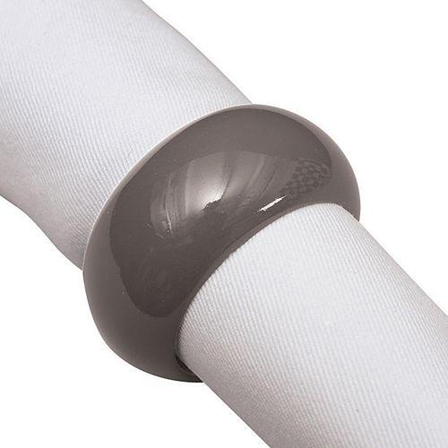 KAF HOME Solid Napkin Ring 8-pk.