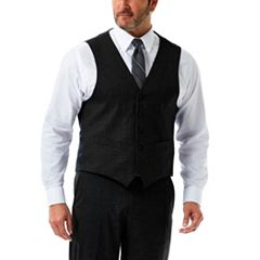 Men's J.M. Haggar Tailored-Fit Stretch Suit Vest