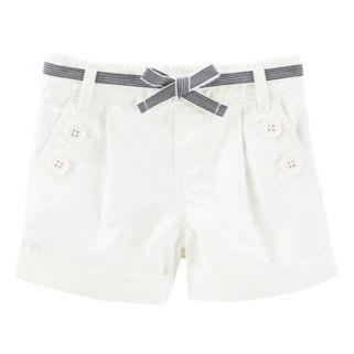 Girls 4-8 OshKosh B'gosh® White Sailor Shorts