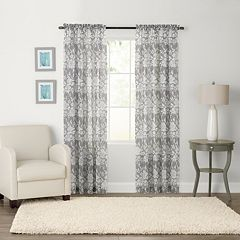 SONOMA Goods for Life™ 1-Panel Karina Light Filtering Crushed Voile Window Curtain