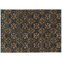 Oriental Weavers Andorra Floral Panel Medallions II Rug