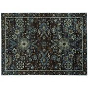 StyleHaven Alexander Floral Ikat Traditional Rug