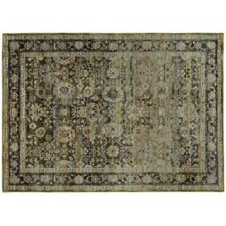 Oriental Weavers Andorra Faded Classic Border Floral Rug