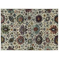 Oriental Weavers Andorra Updated Traditional Floral Ikat Rug