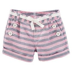 Girls 4-8 OshKosh B'gosh® Striped Sailor Shorts