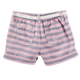 Girls 4-8 OshKosh B'gosh® Striped Sailor Shorts
