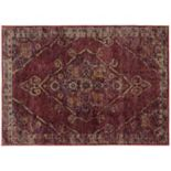 StyleHaven Alexander Antiqued Traditional Medallion I Rug