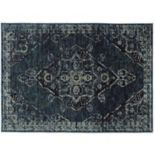 Oriental Weavers Andorra Antiqued Traditional Medallion II Rug