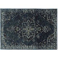 StyleHaven Alexander Antiqued Traditional Medallion II Rug