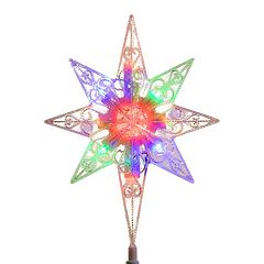 National Tree Company 11-in. Color-Changing LED Star of Bethlehem Christmas Tree Topper