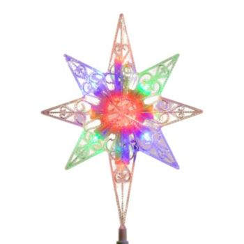 National Tree Company 11 In Color Changing Led Star Of Bethlehem