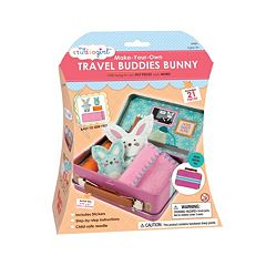 My Studio Girl Make-Your-Own Travel Buddies Bunny Kit