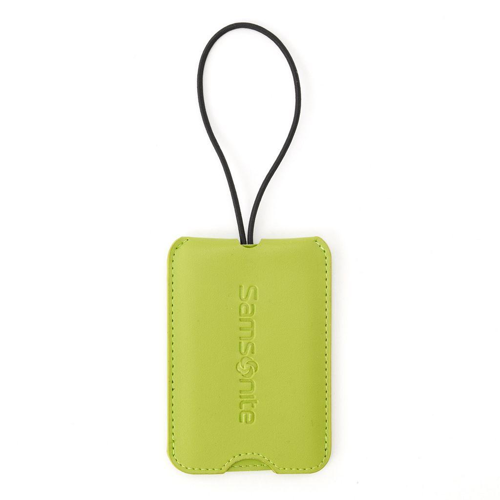 Samsonite Vinyl Green ID Tags (2-Pack)