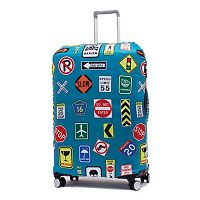 Samsonite Street Signs Printed Luggage Cover