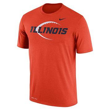 Men's Nike Illinois Fighting Illini Legend Icon Dri-FIT Tee