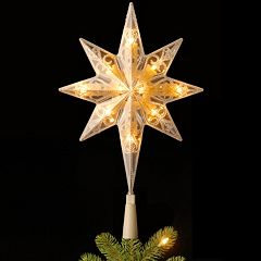 National Tree Company 11-in. LED Star of Bethlehem Christmas Tree Topper