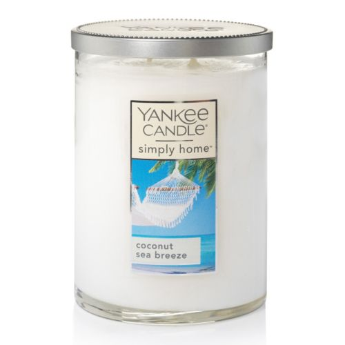 Yankee Candle simply home Coconut Sea Breeze 19-oz. Candle Jar