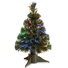 National Tree Company 18-in. Fiber Optic Artificial Ice Tree