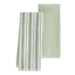 Food Network™ Awning Stripe Kitchen Towel 2-pk.