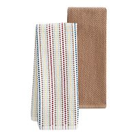 Food Network™ Awning Stripe Kitchen Towel 2 pk
