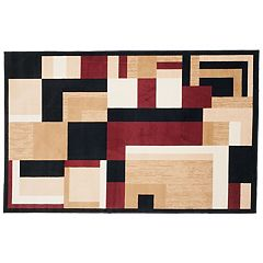 Portsmouth Home Modern Block Rug