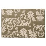Portsmouth Home Floral Scroll Rug