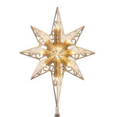 National Tree Company 11-in. Color-Changing LED Star of Bethlehem Battery-Operated Christmas Tree Topper