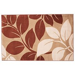 Portsmouth Home Large Leaves Rug