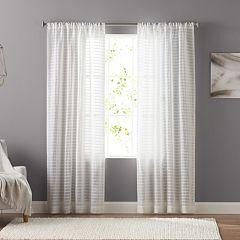 SONOMA Goods for Life™ 1-Panel Encore Pintuck Window Curtain