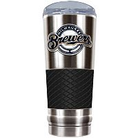 Milwaukee Brewers 24-Ounce Draft Stainless Steel Tumbler