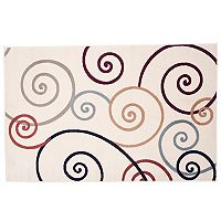 Portsmouth Home Modern Swirls Rug