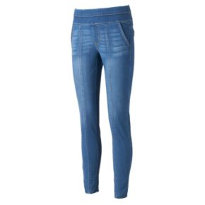 Women's Artisan Crafted by Democracy Seamed Pull-On Jeggings