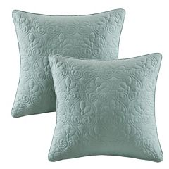 Madison Park Mansfield Quilted 2 pc Throw Pillow Set