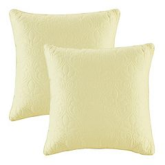 Madison Park Mansfield Quilted 2-piece Throw Pillow Set