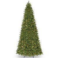 National Tree Company 14-ft. Pre-Lit Artificial Ridgewood Spruce Slim Christmas Tree