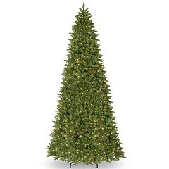 National Tree Company 14-ft. Pre-Lit Artificial Ridgewood Spruce Slim Christmas Tree