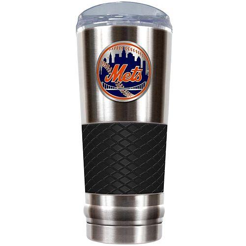 New York Mets 24-Ounce Draft Stainless Steel Tumbler