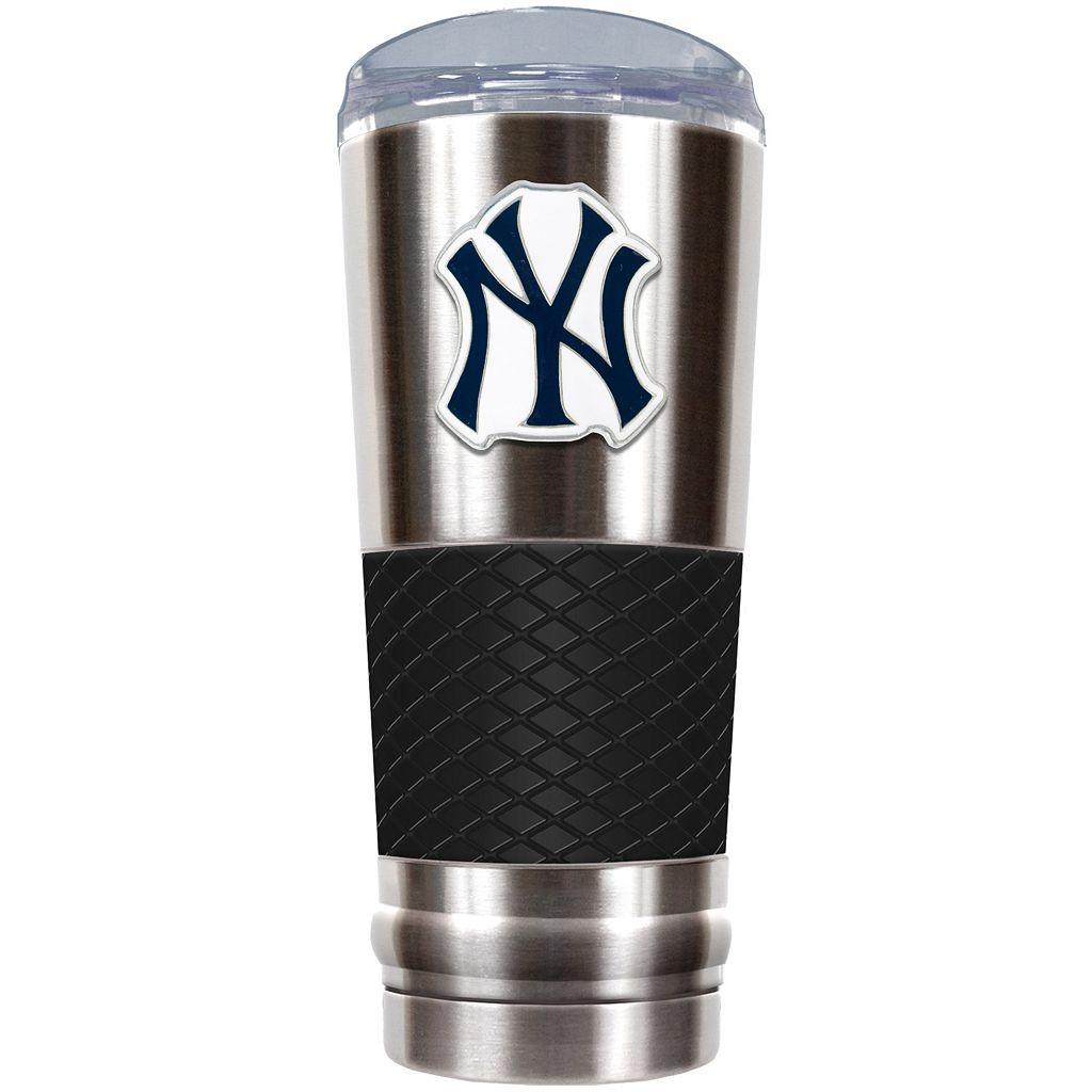 New York Yankees 24-Ounce Draft Stainless Steel Tumbler
