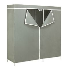 Honey-Can-Do Steel Frame Wardrobe