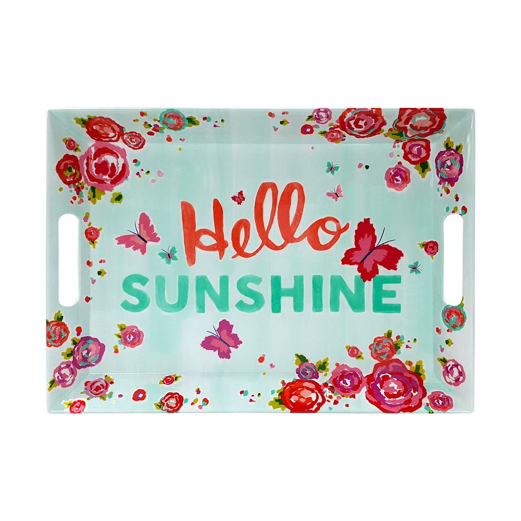 Celebrate Summer Together Melamine Serving Tray with Handles