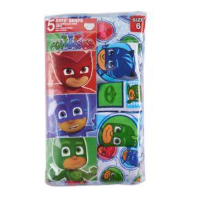 Boys 4-6 PJ Masks 5-Pack Briefs