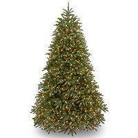 National Tree Company 7.5-ft. Jersey Fraser Medium Fir Multicolor Pre-Lit Artificial Christmas Tree