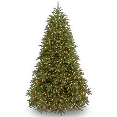 National Tree Company 7.5-ft. Jersey Fraser Medium Fir Multicolor Pre-Lit Artificial Christmas Tree