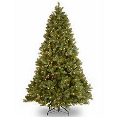 National Tree Company 7.5-ft. Douglas Fir Hinged Pre-Lit Artificial Christmas Tree