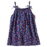 Girls 4-8 OshKosh B'gosh® Smocked Flower & Star Print Tank Top