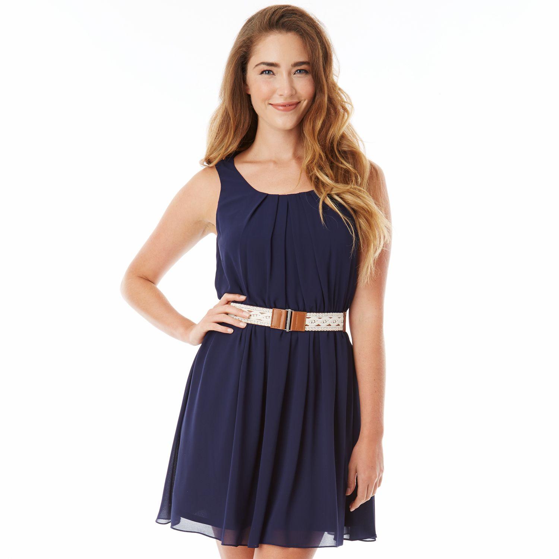 Cocktail dress juniors 8 inch