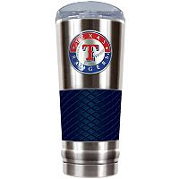Texas Rangers 24-Ounce Draft Stainless Steel Tumbler