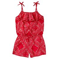 Girls 4-12 OshKosh B'gosh® Ruffle Top Romper