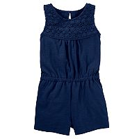 Girls 4-12 OshKosh B'gosh® Lace Yoke Romper